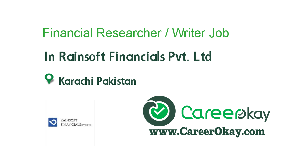 Financial Researcher / Writer