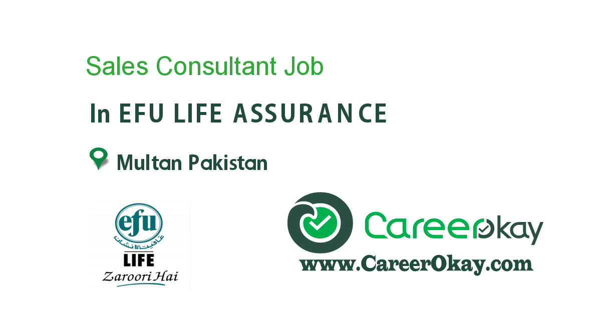 Sales Consultant In Multan