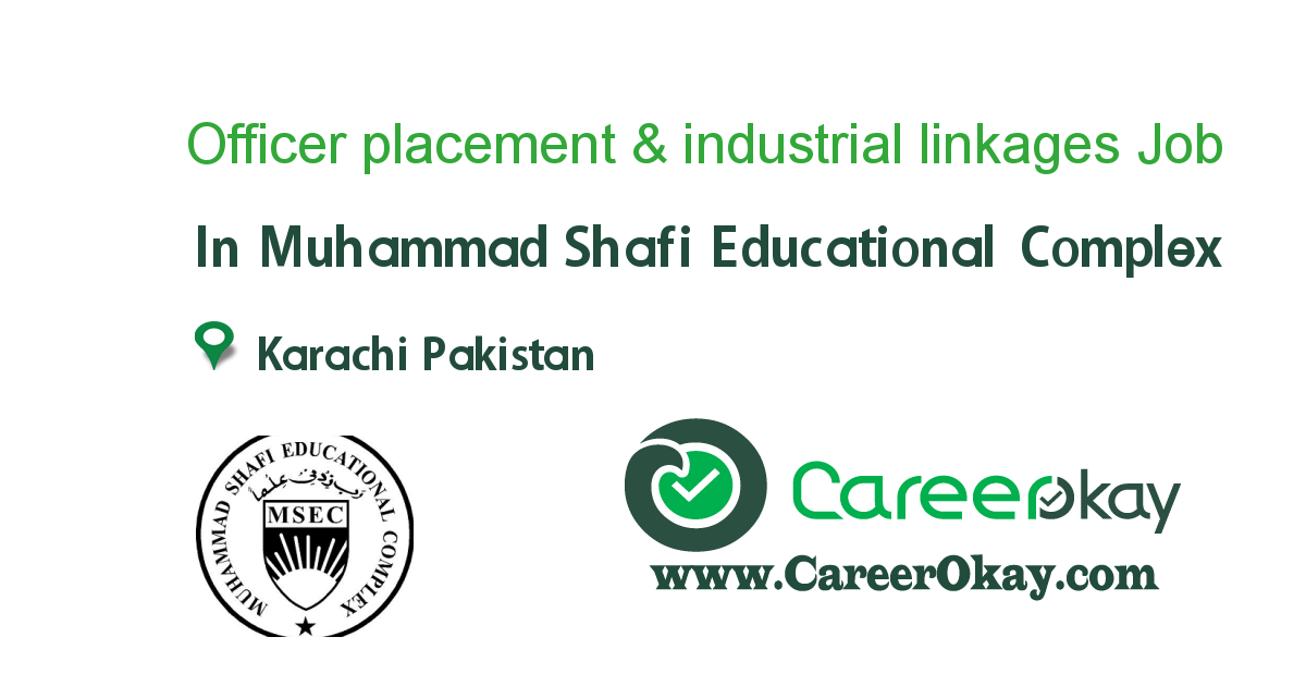 Officer placement & industrial linkages