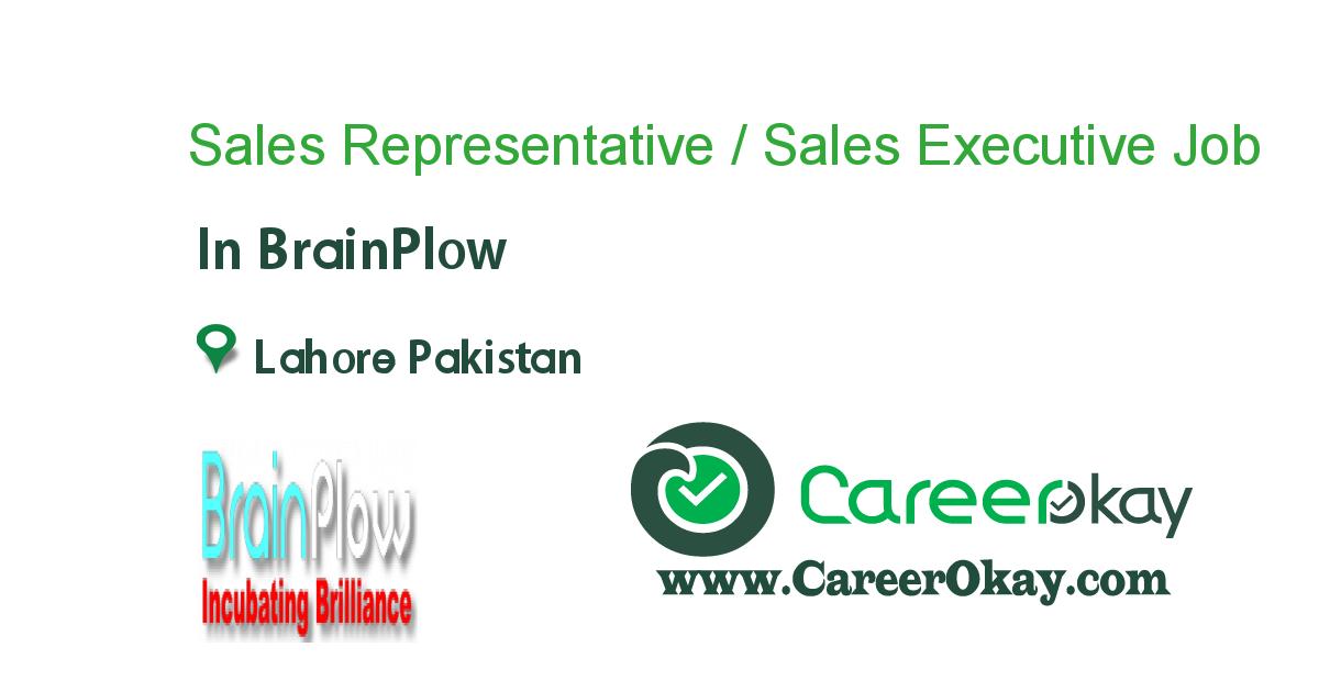 Sales Representative / Sales Executive