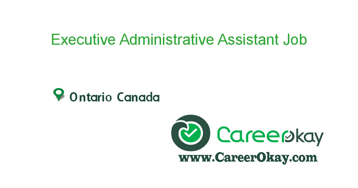 Executive Administrative Assistant