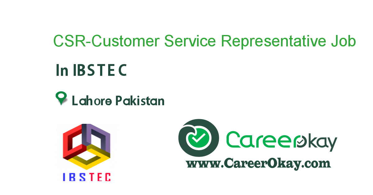 CSR-Customer Service Representative