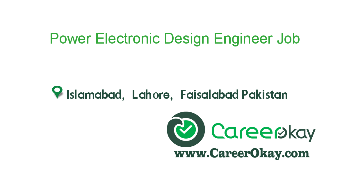 Power Electronic Design Engineer