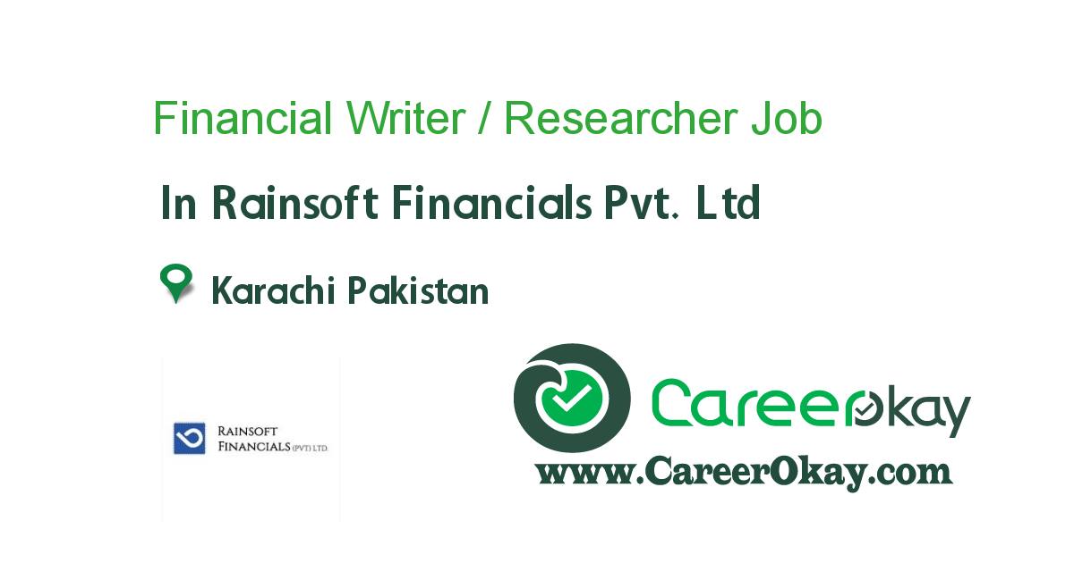 Financial Writer / Researcher