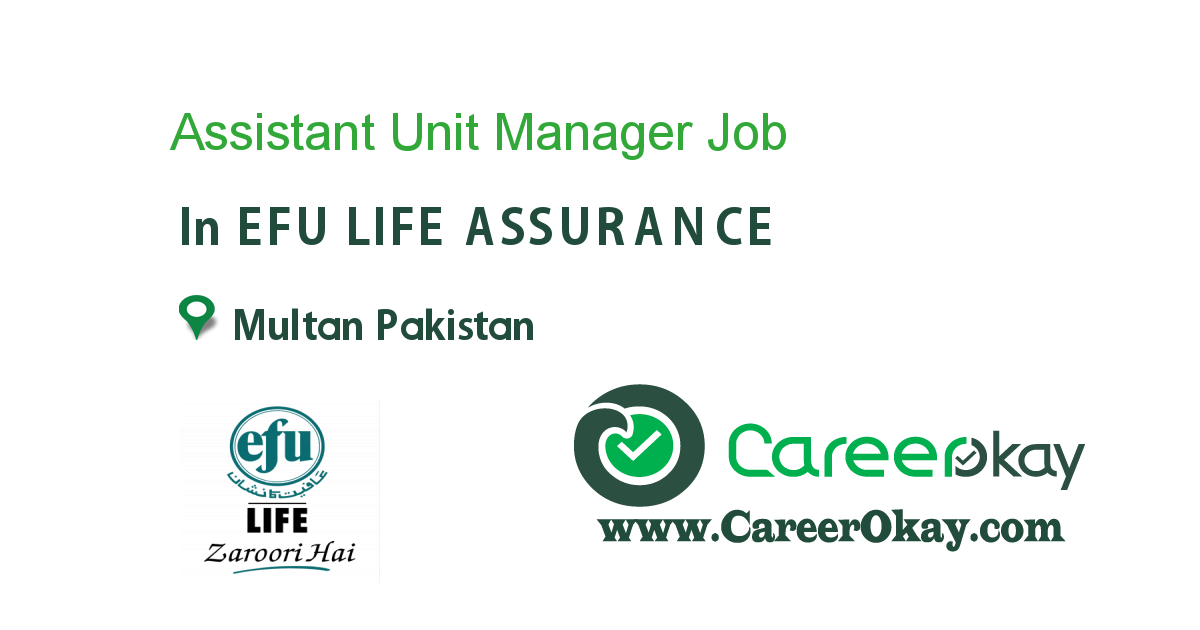 Assistant Unit Manager