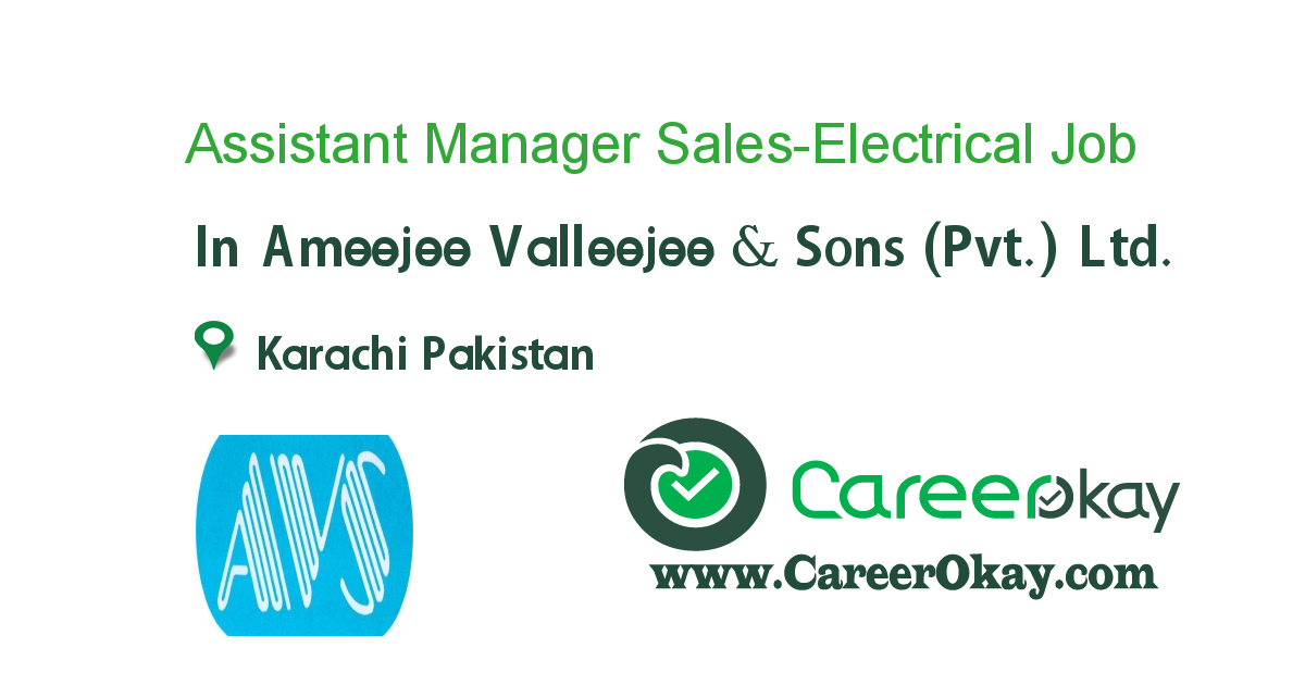 Assistant Manager Sales-Electrical