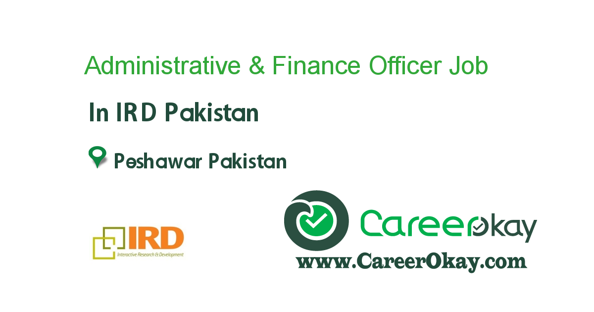 Administrative & Finance Officer