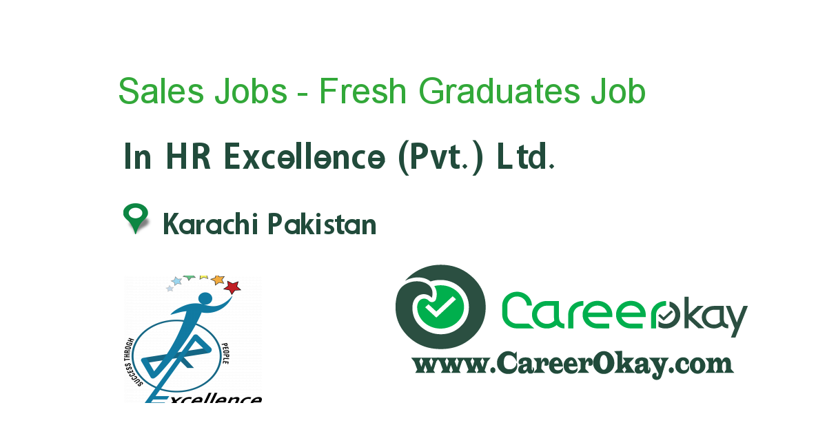 Sales Jobs - Fresh Graduates