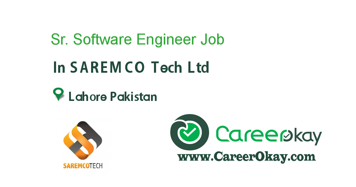 Sr. Software Engineer