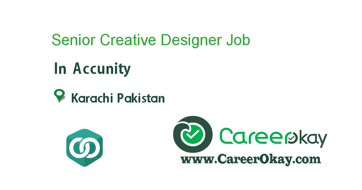 Senior Creative Designer
