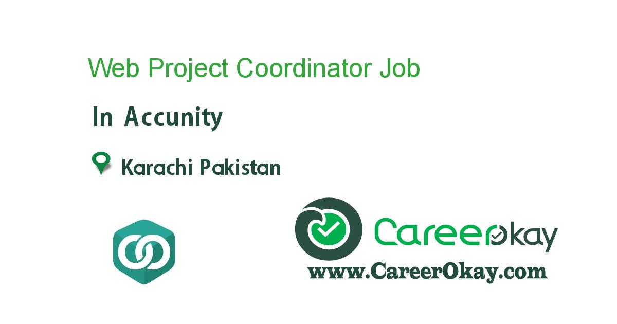 Web Project Coordinator