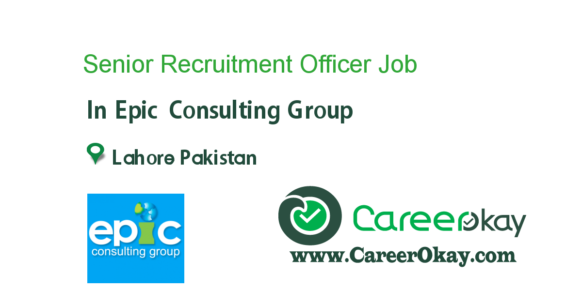 Senior Recruitment Officer