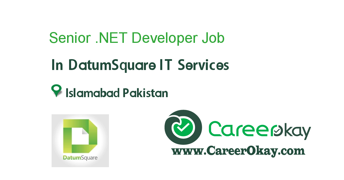 Senior .NET Developer
