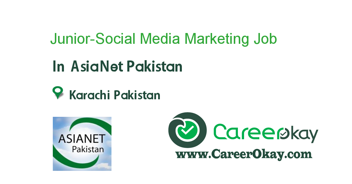 Junior-Social Media Marketing