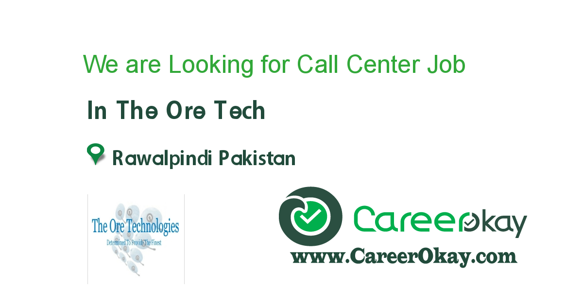 We are Looking for Call Center Representatives