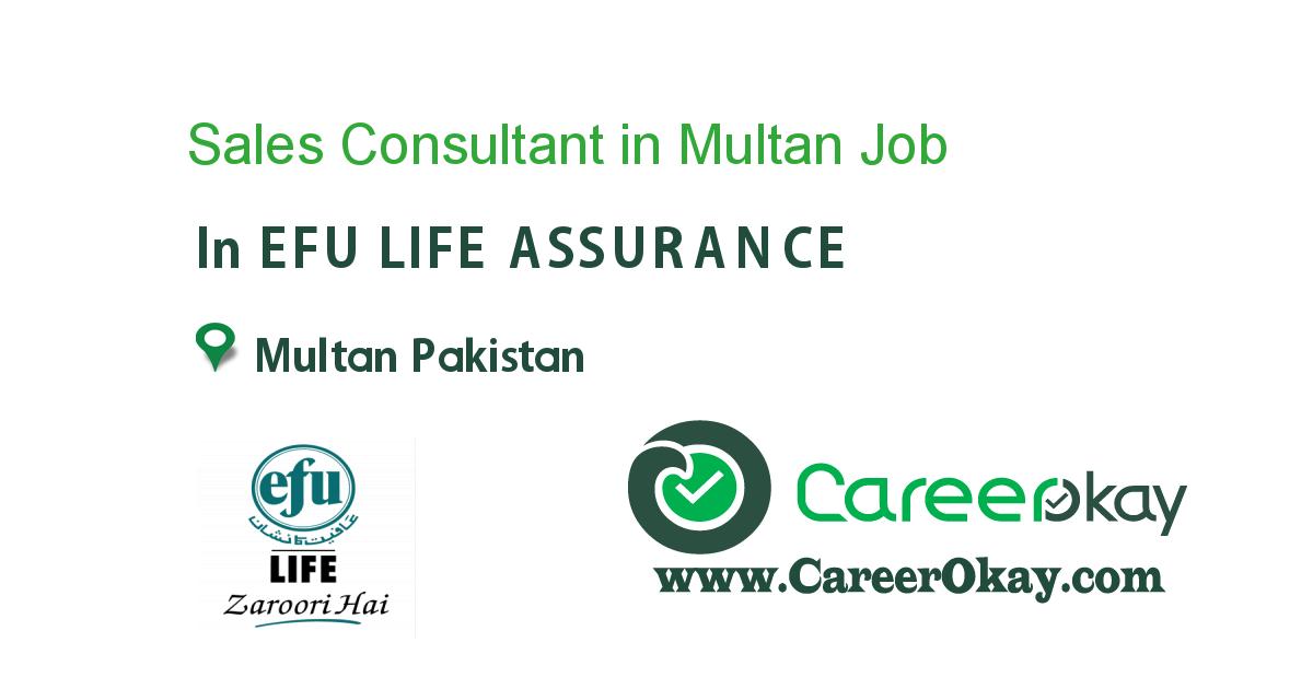 Sales Consultant in Multan