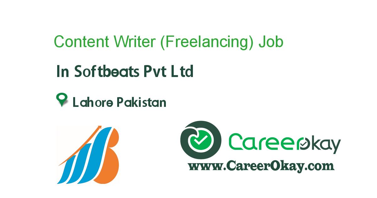 Content Writer (Freelancing)