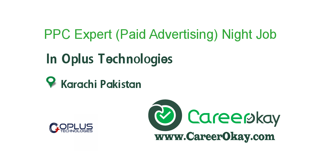 PPC Expert (Paid Advertising) Night Shift