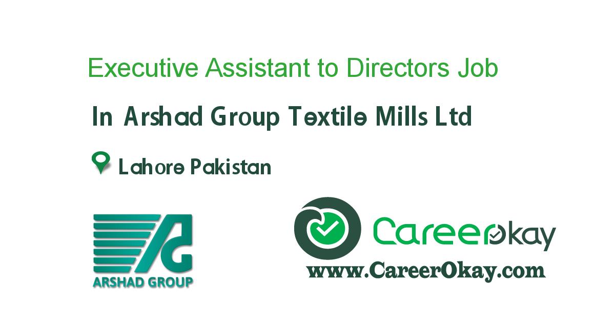 Executive Assistant to Directors
