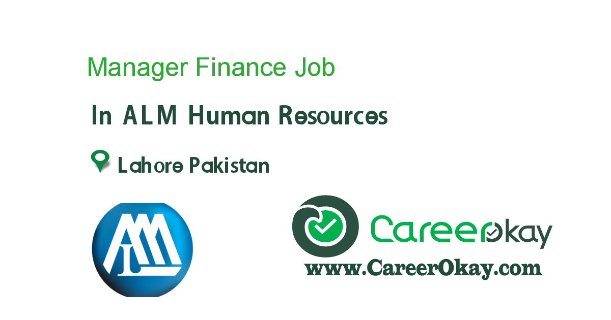 Manager Finance