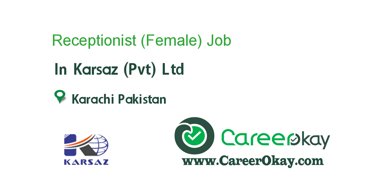 Receptionist (Female)