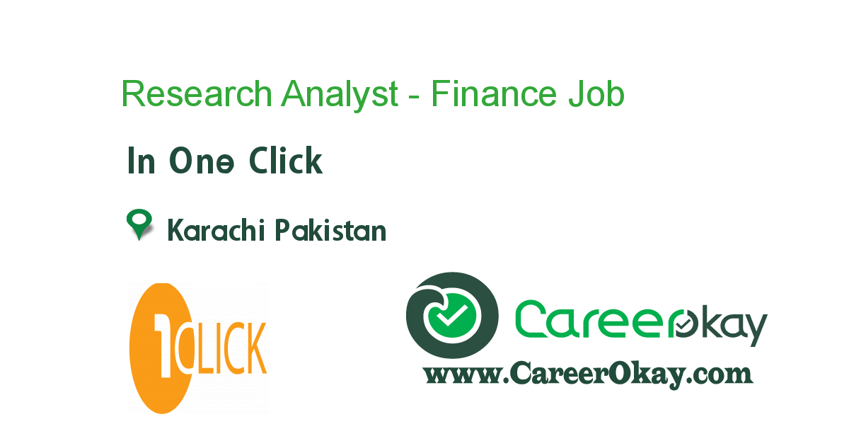Research Analyst - Finance
