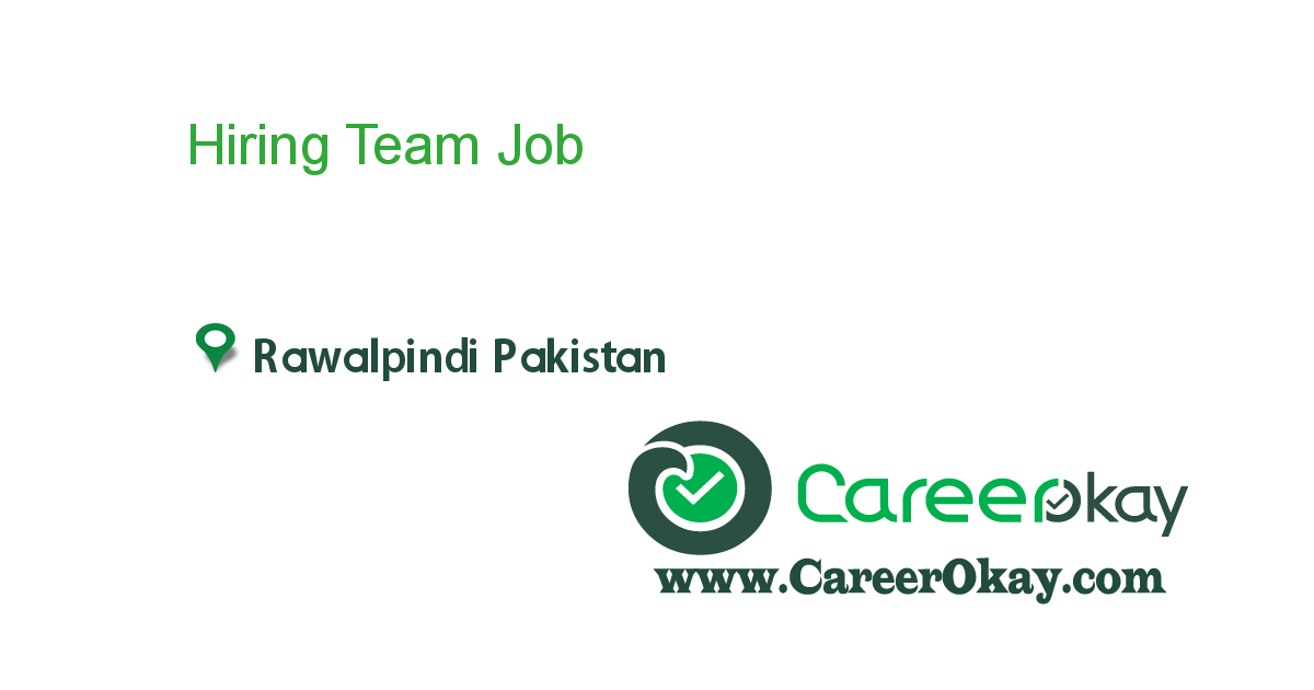 Hiring Team Managers,Supervisors,Business consultants.