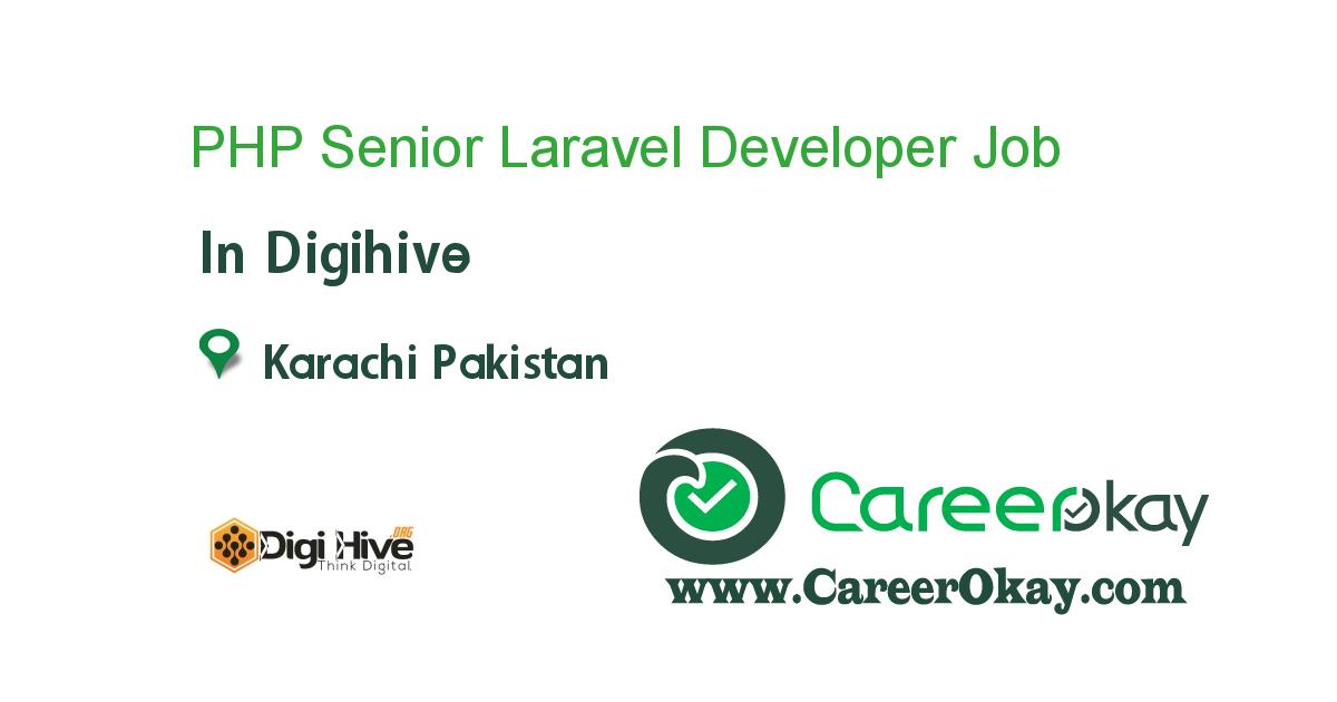 PHP Senior Laravel Developer