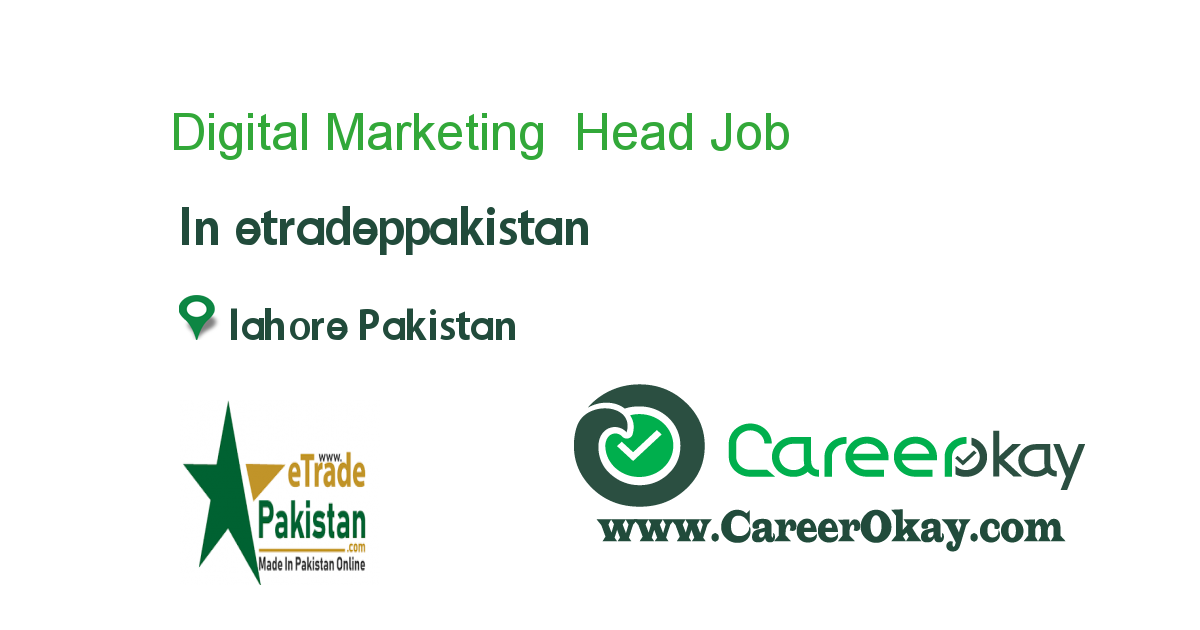 Digital Marketing Head