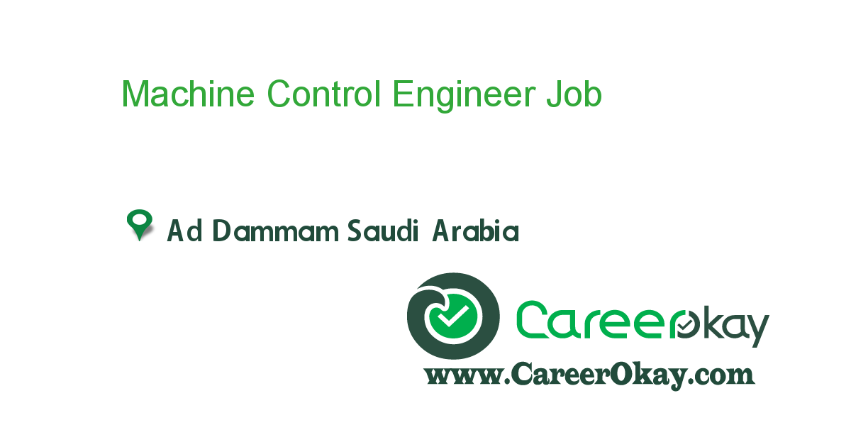Machine Control Engineer