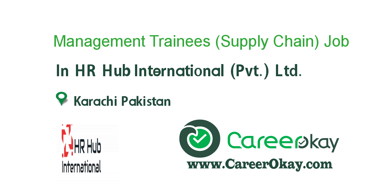 Management Trainees (Supply Chain)