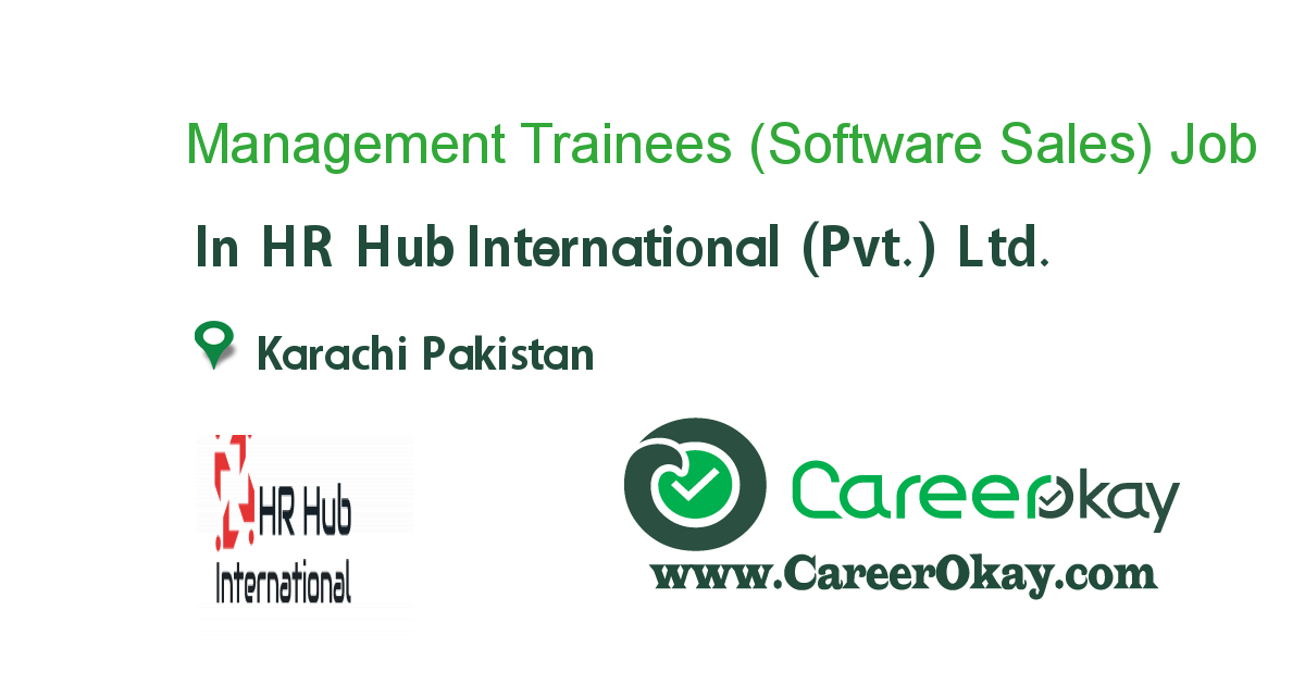 Management Trainees (Software Sales)