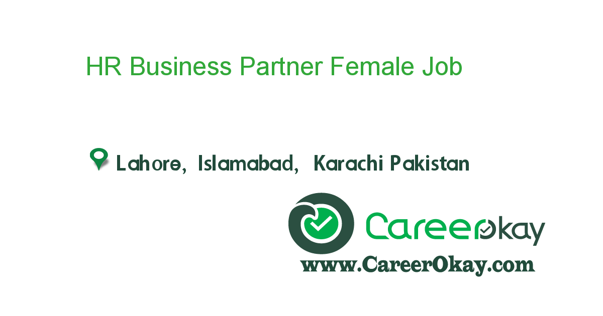 HR Business Partner Female