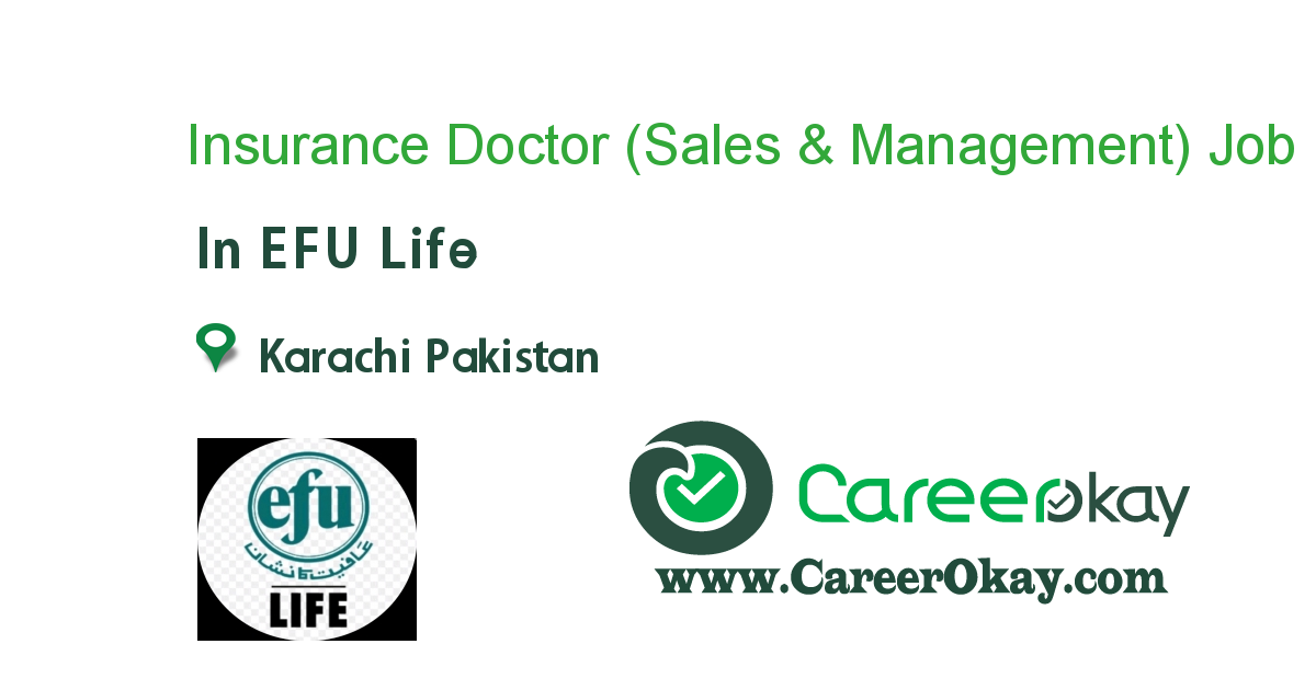 Insurance Doctor (Sales & Management)