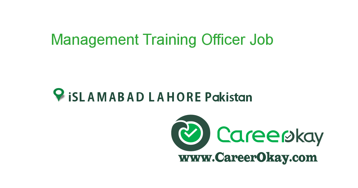 Management Training Officer
