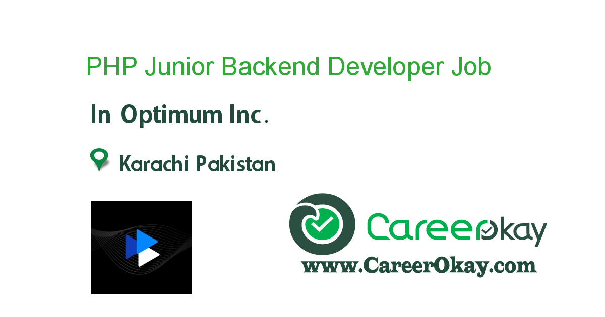 PHP Junior Backend Developer