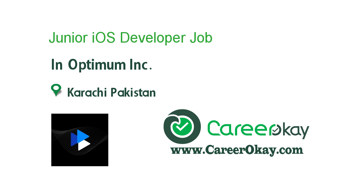 Junior iOS Developer