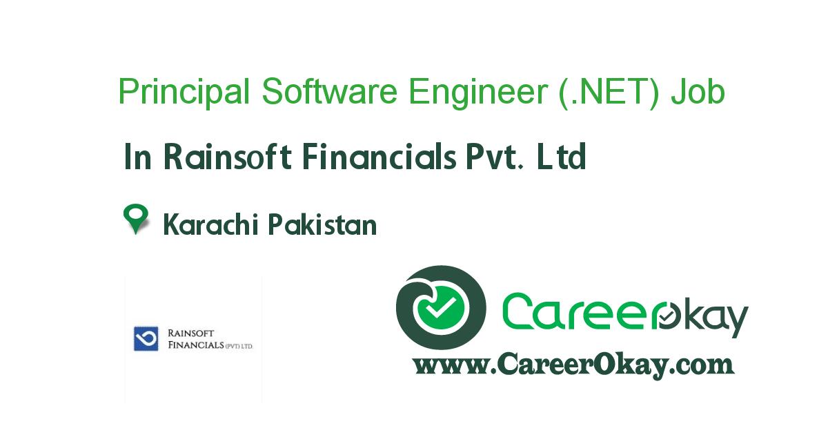 Principal Software Engineer (.NET)