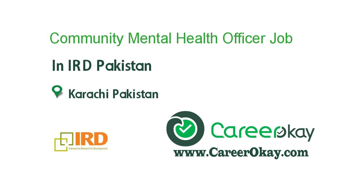 Community Mental Health Officer