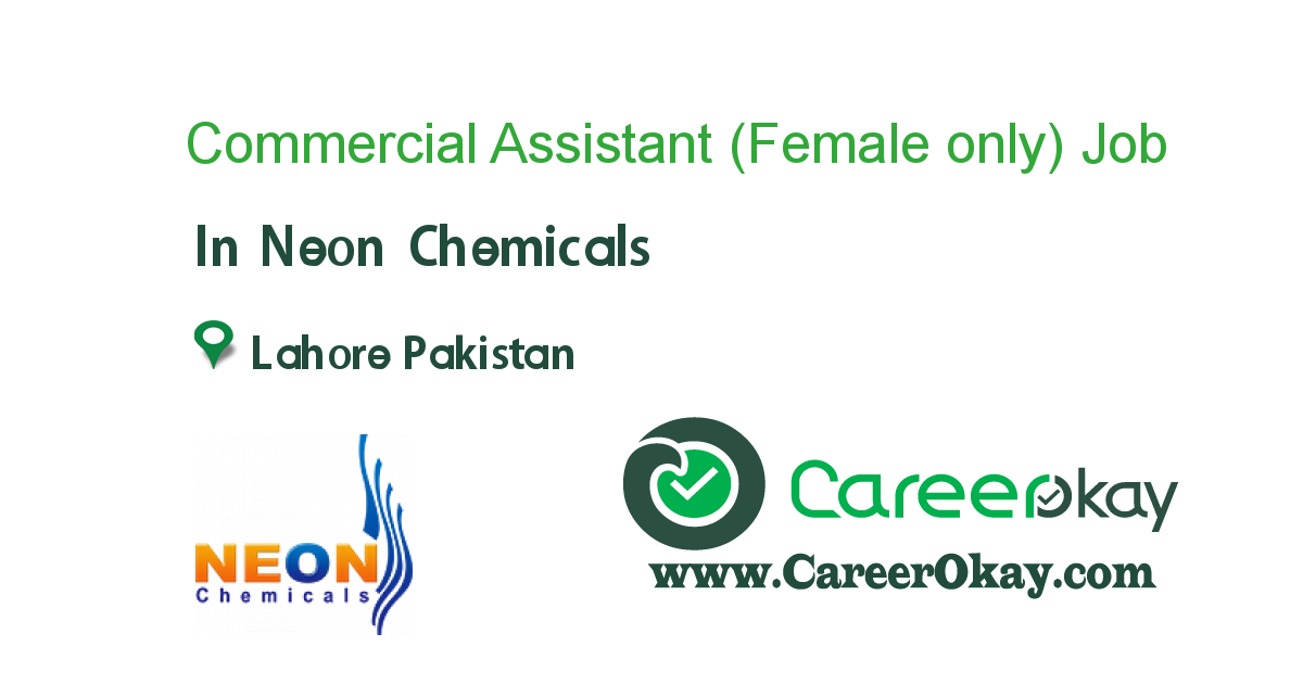 Commercial Assistant (Female only)