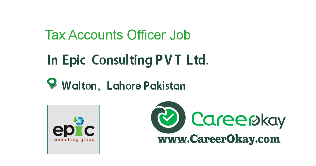Tax Accounts Officer