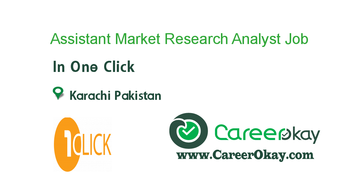 Assistant Market Research Analyst