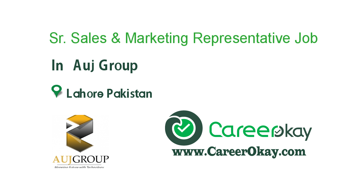 Sr. Sales & Marketing Representative