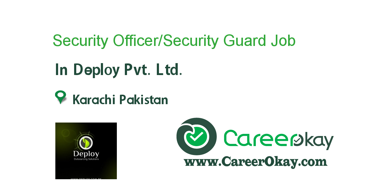 Security Officer/Security Guard