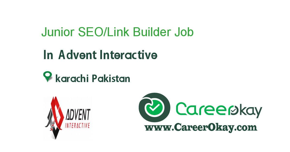 Junior SEO/Link Builder