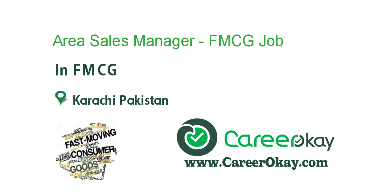Area Sales Manager - FMCG