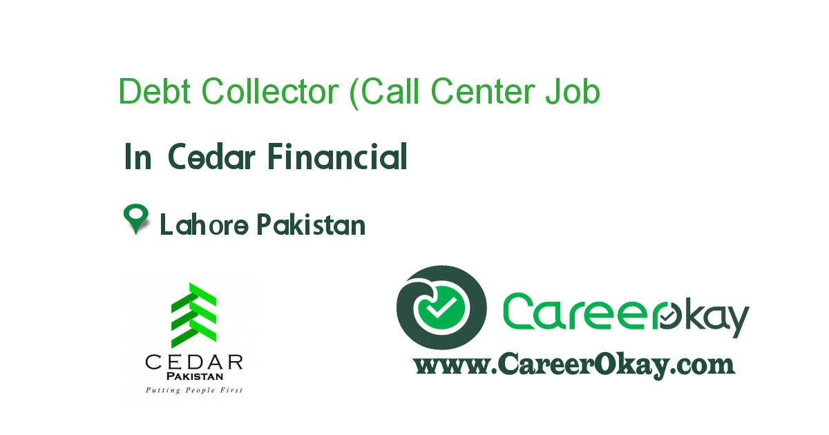 Debt Collector (Call Center Representative)
