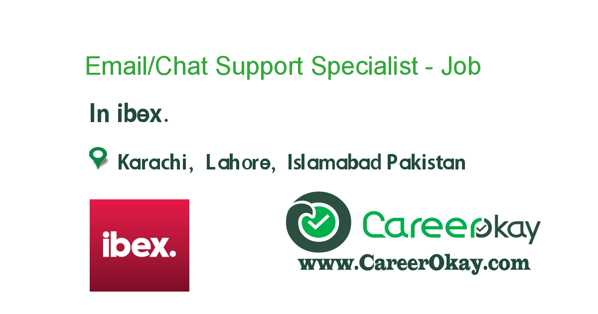 Email/Chat Support Specialist - International