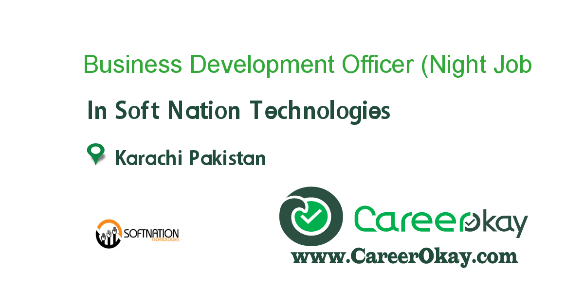 Business Development Officer (Night Shift)