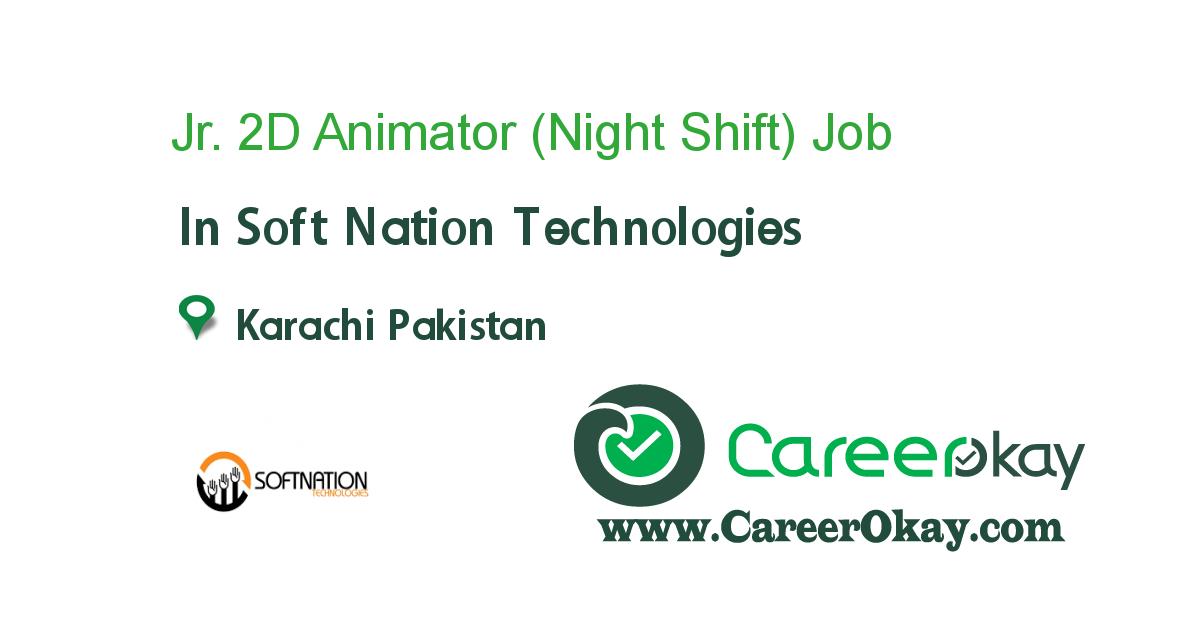Jr. 2D Animator (Night Shift)